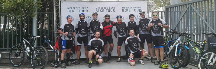 Mercedes-Benz Bike Tour